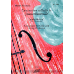 Wessman Harri: Concertino sellolle ja jousiork. stemmat