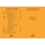 Aho Kalevi: Sonatiini n:o 1 pianolle (1993)