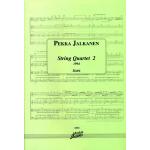 Jalkanen Pekka: Jousikvartetto nro 2, partituuri