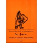 Jalkanen Pekka: Konsertto kanteleelle ja jousiorkesterille, part